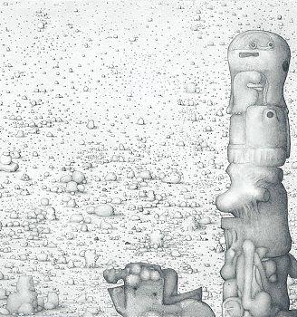 PAUL NOBLE  http://www.widewalls.ch/artist/paul-noble/ #drawing #sculpture