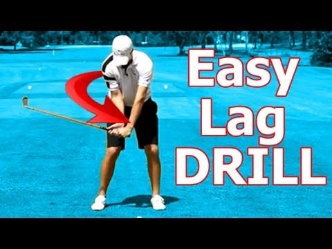 ▶ Online Golf Instruction: Best Drill Ever to Create Golf Swing Lag - YouTube
