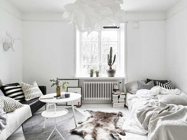 1 Room Apartment Design best 25+ one room flat ideas on pinterest | lounge decor, white