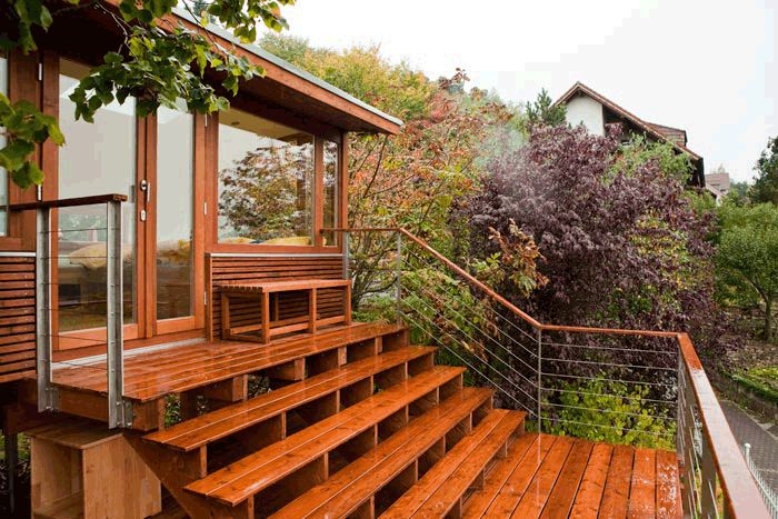 If you have wooden exterior steps, you need to protect them from damaging elements like ice, rain and snow. Applying a waterproof finish is the best approach to keep up their quality, integrity & its excellence. Search for local carpenters @ http://www.hirecontractor.com/search.php?tab=1