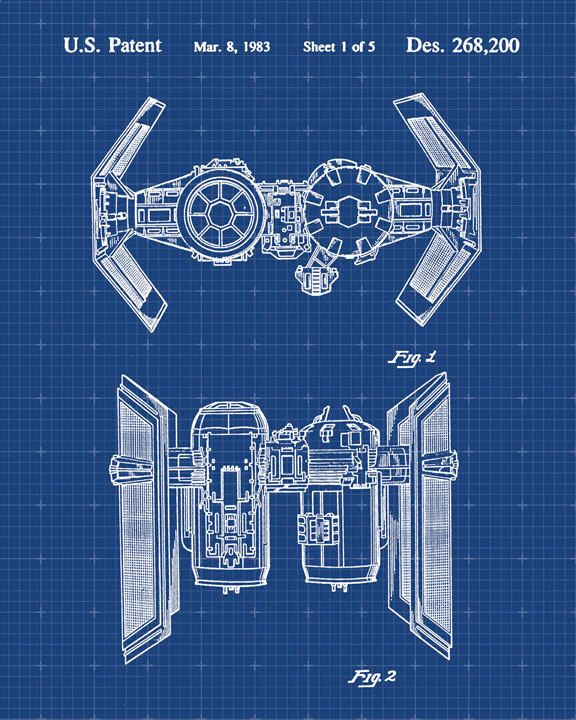 104 best blueprints as art images on pinterest maps autos and star wars tie bomber patent print patent art poster blueprint by visualdesign on etsy https malvernweather Choice Image