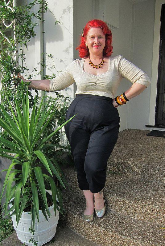 Butterick 5895 B5895 Gertie Pants Trousers 1950s Cigarette