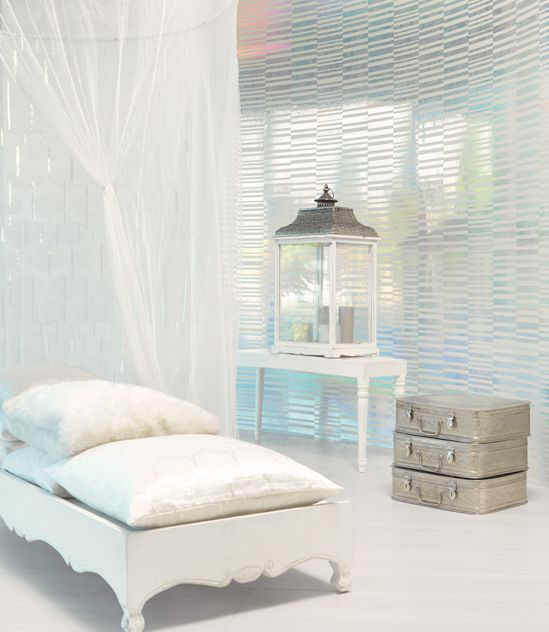 We love joanne Fabrics - MAGIQUE!!!! silver #wallpaper - available at our showroom!