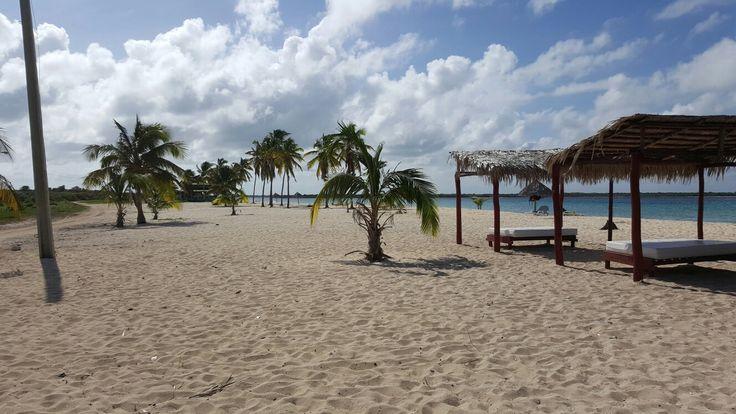 Beautiful Coco Beach in Santa Lucia