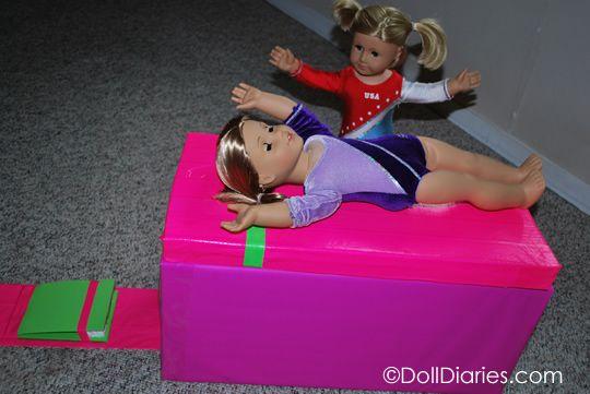 How to make a gymnastics vault for McKenna