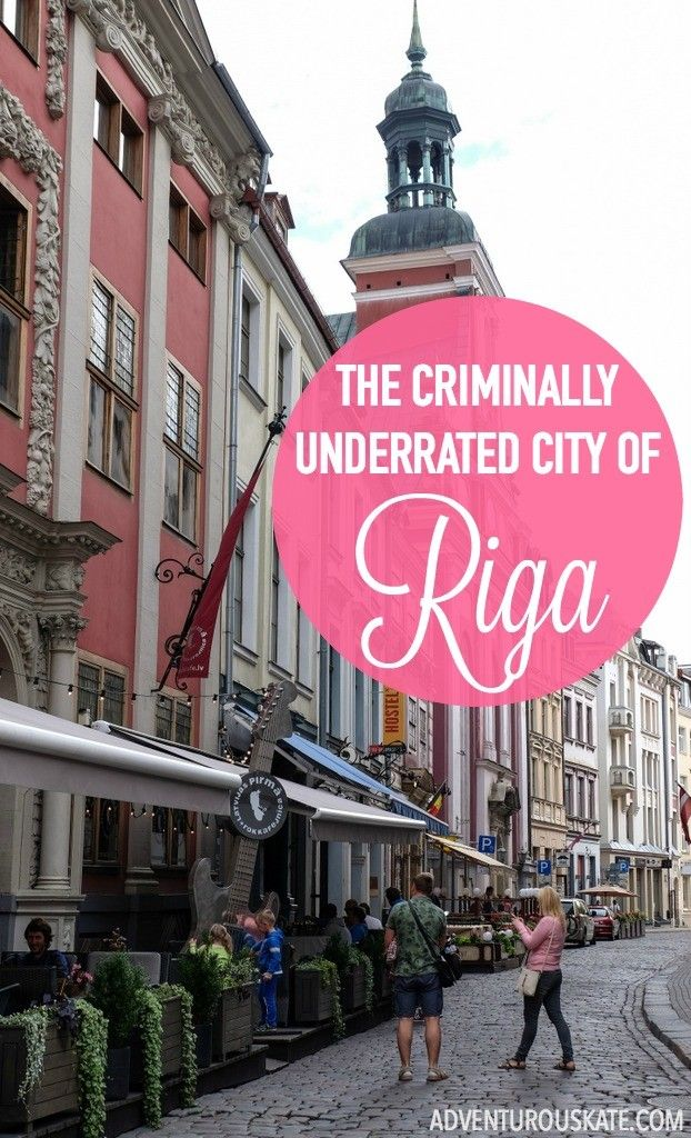 Riga, the capital of Latvia, deserves far more attention from tourists than it seems to receive. See why it was one of my favorite destinations in Europe this summer! #travelguide #travel #baltic #travelBaltic #BalticSea #coast #Europe #traveleurope #latvia #lativatravel