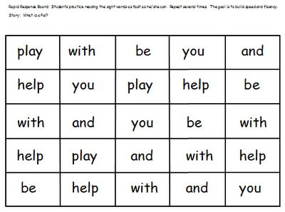 First Grade Shenanigans: Sight Word Practice using Journeys Reading Program HFSW