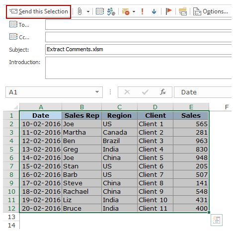 how to send email with excel attachment in php