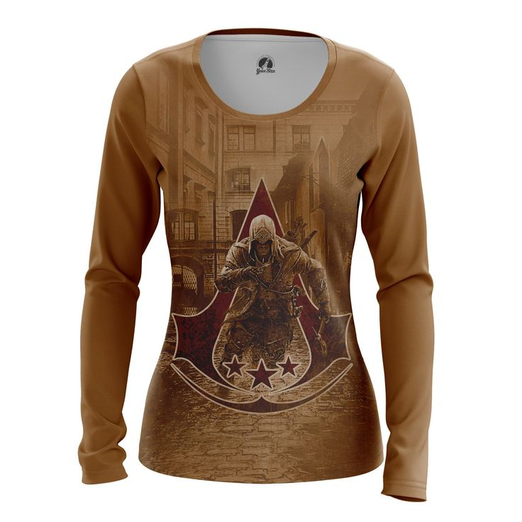 Awesome Womens Longsleeve Assassin's Creed 3 Game  – Search tags:  #Assassinscreedbuyaustralia #Assassinscreedbuycanada #assassinscreedclotheslongsleeves #assassinscreedmerchandise #assassinscreedmerchandisedk #AssassinsCreedmerchandisegifts #AssassinsCreedmerchandiseindia #AssassinsCreedmerchandiseuk #assassinscreedshirt #assassinscreedt-shirt #Assassinscreedtoys #femaleclothes #femalelongsleeve #gamesmerchandiseassassinscreedmerchandise #girlsclothes