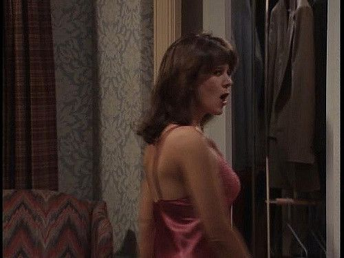 patricia Richardson red nightie -008   Droop Along   Flickr