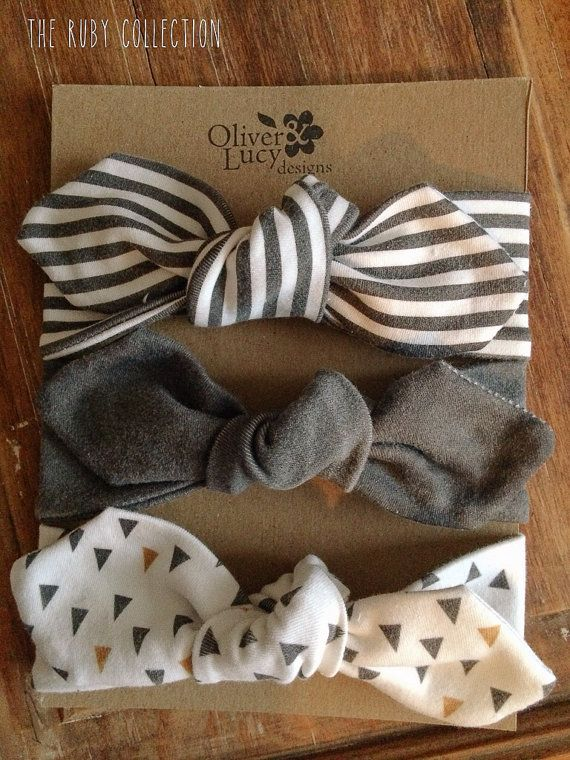 Loving the Ruby collection =) Ruby Collection Organic Jersey Headband by oliverandlucydesigns, $25.00