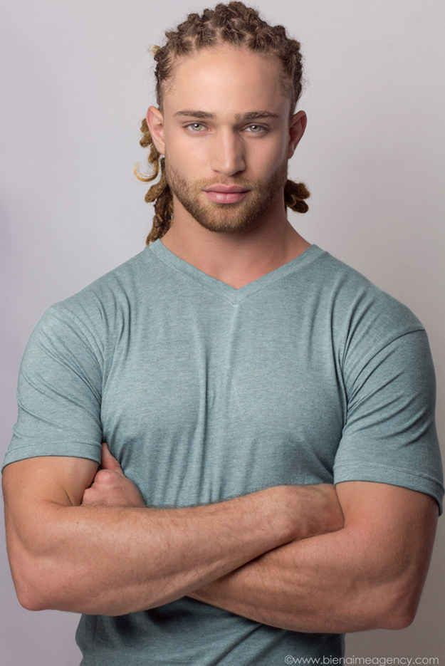 This is Alexander Masson. He is a 21-year-old model from Miami. And he is unreasonably attractive.