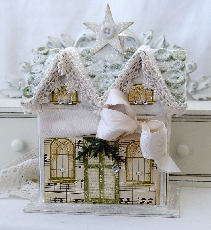 178 best Christmas - Putz Houses/Glitter Villages images on ...
