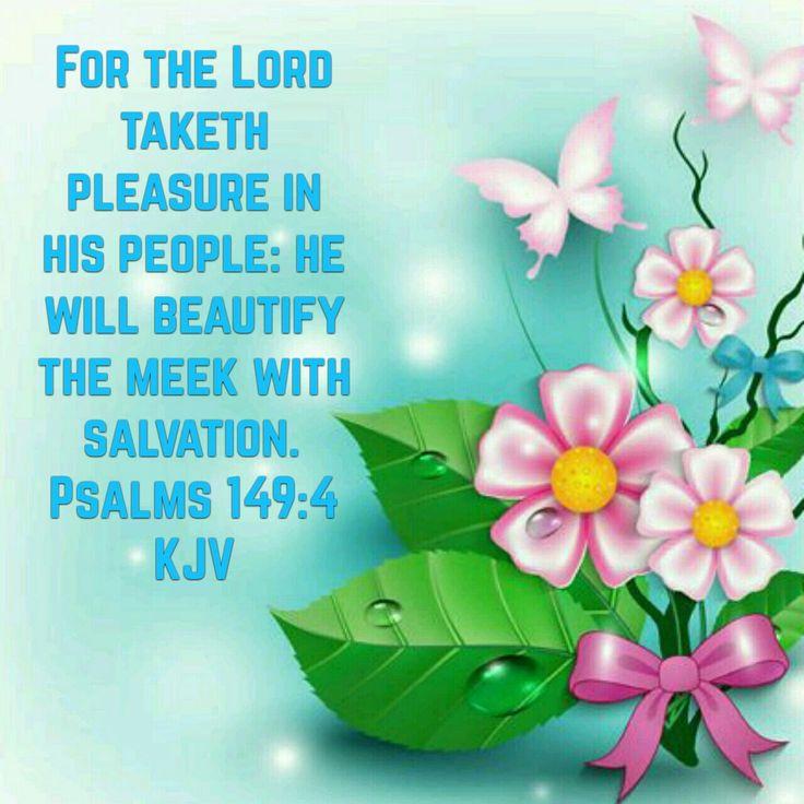 Psalms 149:4 (KJV)