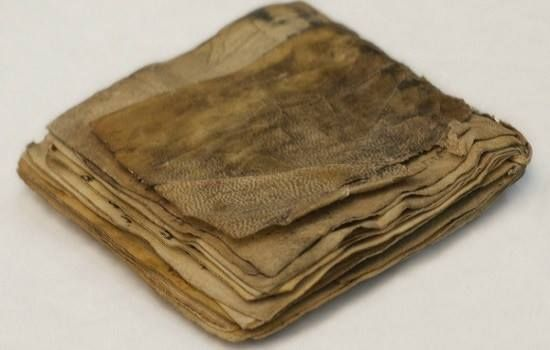 THIS 1,200-YEAR-OLD parchment Jewish prayer book, dated from the 9th-century and considered the oldest in existence (several hundred years older than the oldest Torah scrolls, but later than the Dead Sea Scrolls) was revealed Sept. 27 by a private collector of Biblical artifacts.