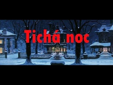 Tichá noc + Text - YouTube