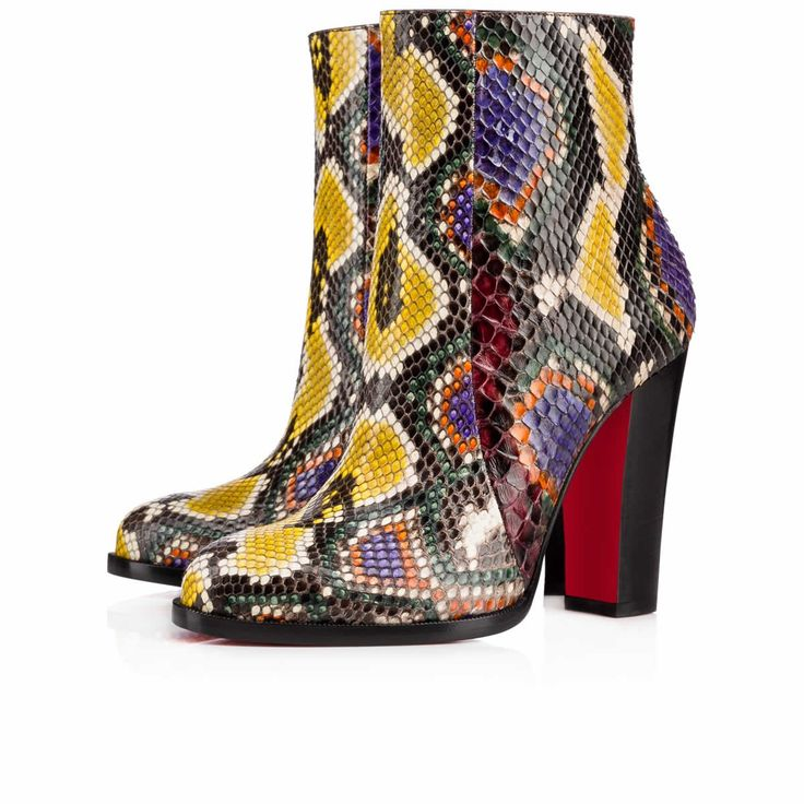 """Adox"" is Autumn/Winter style revamped. In vibrant, multi-coloured 'python…"