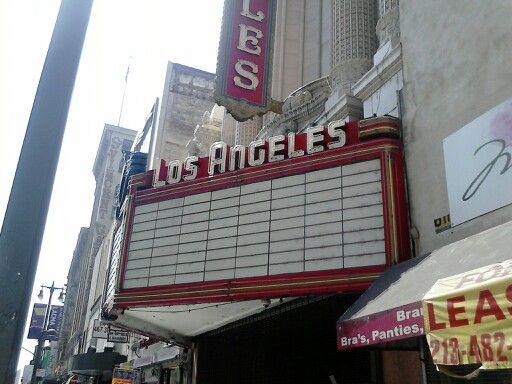 LA. Downtown. California.