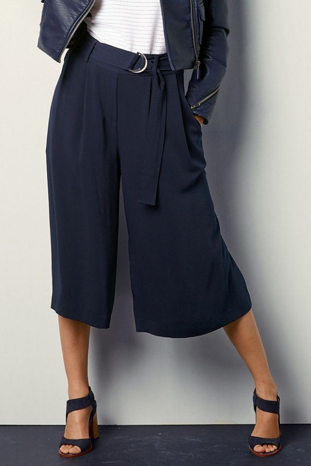 юбка-брюки в морском стиле