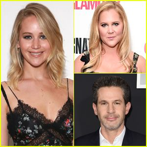 Jennifer Lawrence Checks Out BFF Amy Schumer's Show on Broadway with 'X-Men' Director Simon Kinberg! (Exclusive)