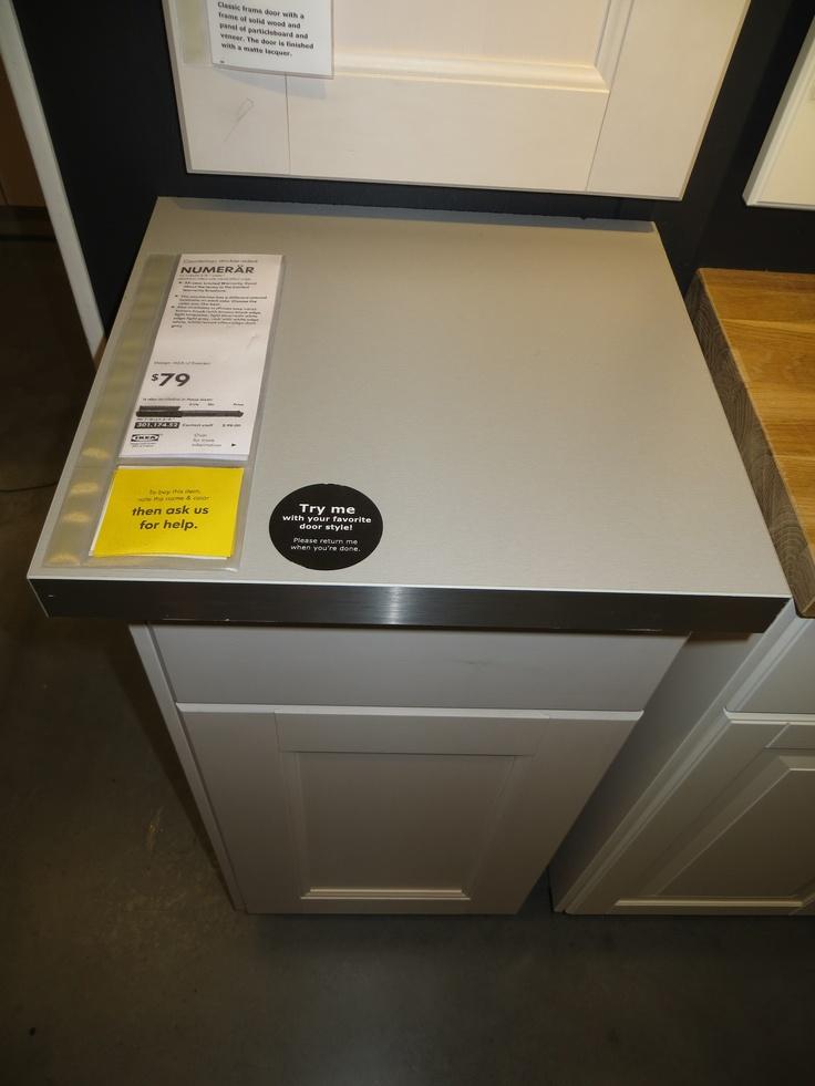 Ikea Faktum Abstand Zur Wand ~ IKEA Numerar Grey & Steel Countertop  Justin's & Kelly's Rem