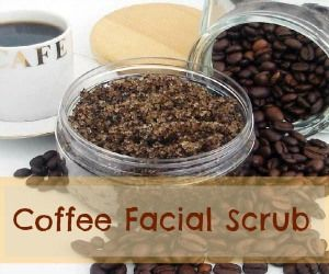 The best facial scrub I have ever used. Coffee and Olive Oil Scrub