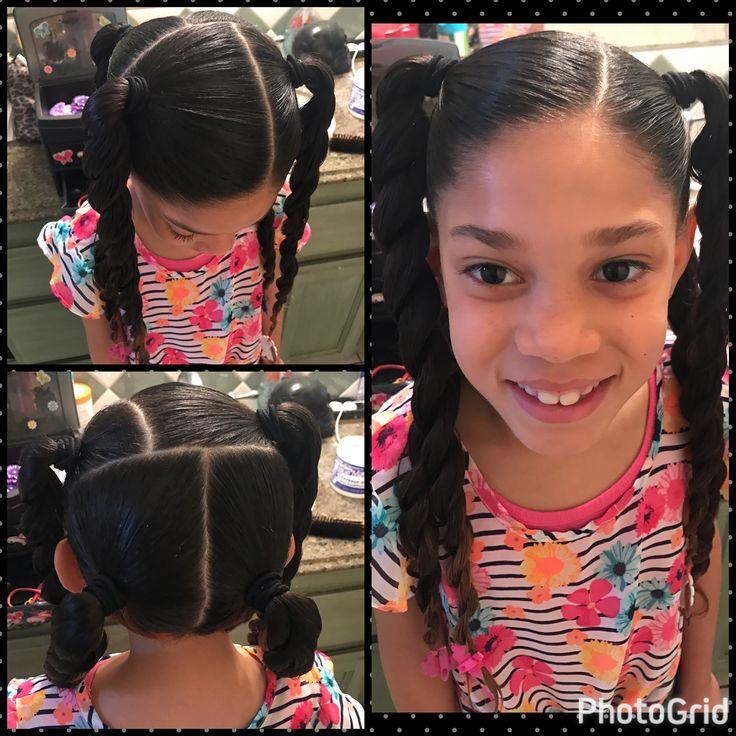 Little girl hairstyles mixed girls little girl ponytails