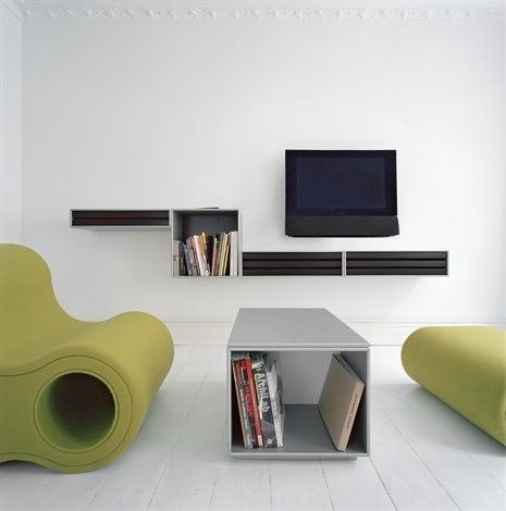 Montana – creative storage for all your living room electronics. #montana #furniture #danish #design #danishdesign