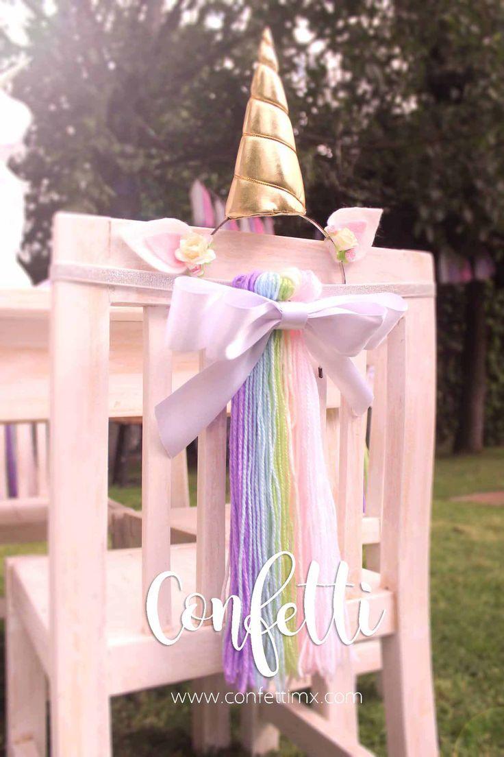 Unicorn Party Ideas / Kids Party / Colorful Party / Fiesta de unicornios / Fiesta para niños / Diadema Unicornio