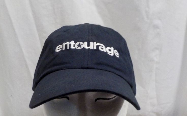 Vintage HBO Entourage (TV series) baseball truckers cap hat by LouisandRileys on Etsy