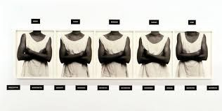 Lorna Simpson - Using text as visual code