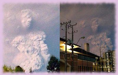 Z.Meck News: A intrigante fumaça de cinzas da erupção do vulcão...  Há cerca de dois anos, o vulcão Calbuco, no Chile, entrou em erupção depois de ficar adormecido por 54 anos.  O intrigante é que nessa trágica situação que ocorreu no mês de abril de 2015, umas imagens chamaram a atenção; é que uma das fumaças de cinzas... https://zmecknews.blogspot.com.br/2017/05/a-intrigante-fumaca-de-cinzas-da.html