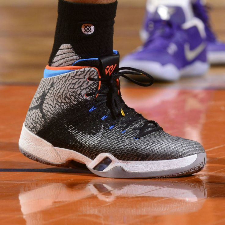 Russell Westbrook secured the Triple-Double record in this Air Jordan 31 PE.
