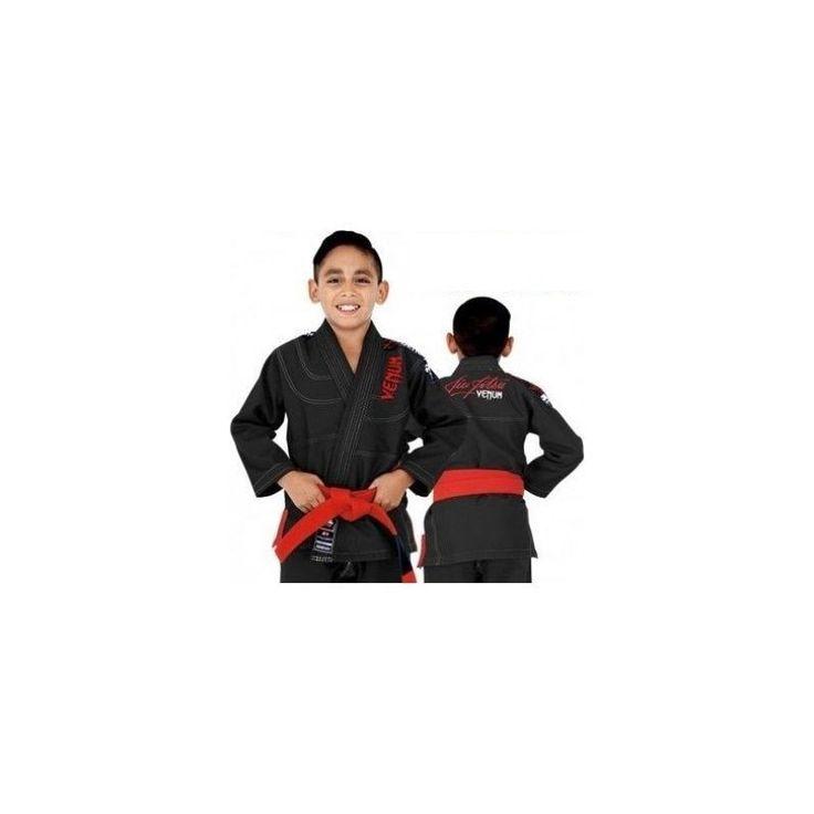 Dispnemos en SoloArtesMarciales.com de  Kimono Jiu-Jitsu ... Cómpralo desde aquí!!  http://soloartesmarciales.com/products/kimono-jiu-jitsu-brasileno-venum-challenger-2-0-kids-negro?utm_campaign=social_autopilot&utm_source=pin&utm_medium=pin