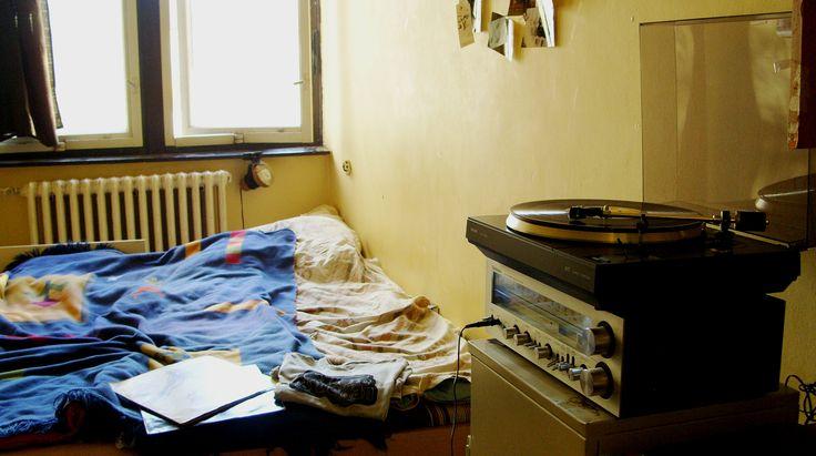 vinyl, turntable, room, technics, philips, vintage