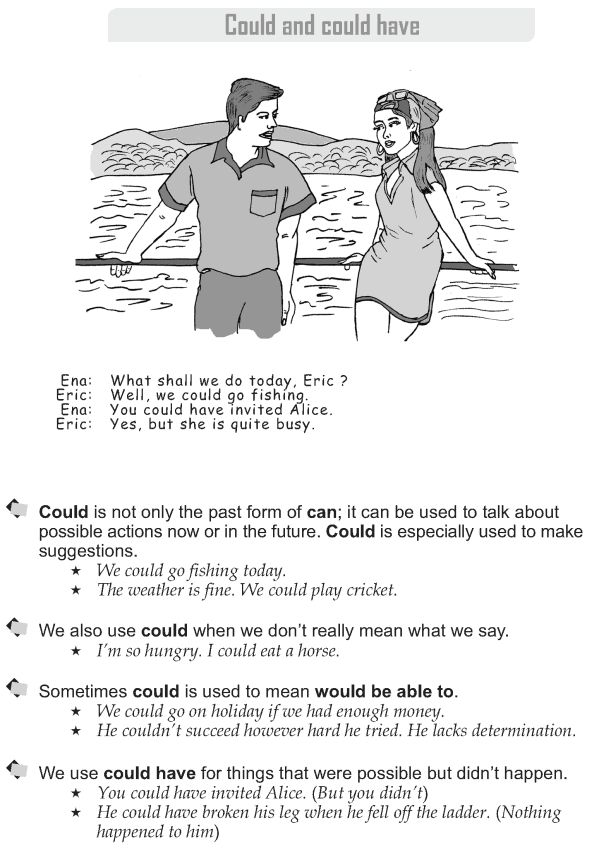 Grade 9 Grammar Lesson 21 Could and could have (1)