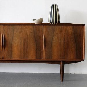 Exclusive Rosewood Sideboard by Alf Aarseth for Gustav Bahus, Norway by Alf Aarseth