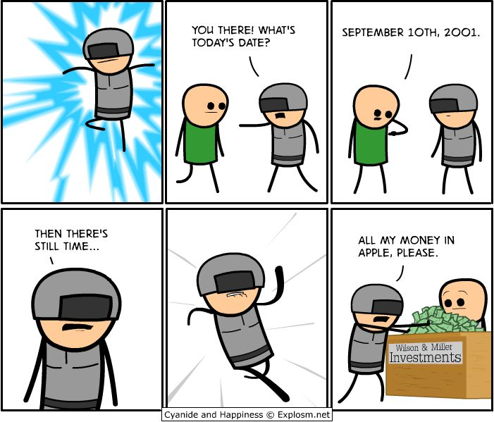 Opinion Cyanide comic strip above told