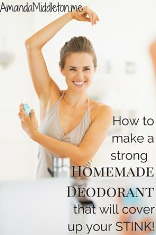 This homemade deodorant REALLY works! Salad ideas, salad recipes, #salad #recipe
