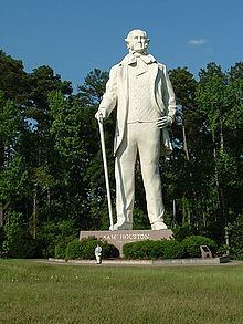 Sam Houston Statue Huntsville, Texas
