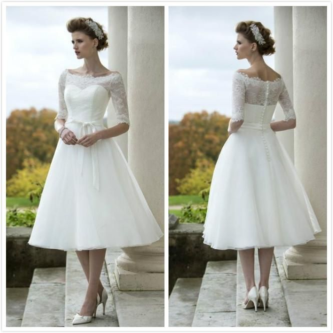 Short 50s Style Wedding Dresses – fashion dresses