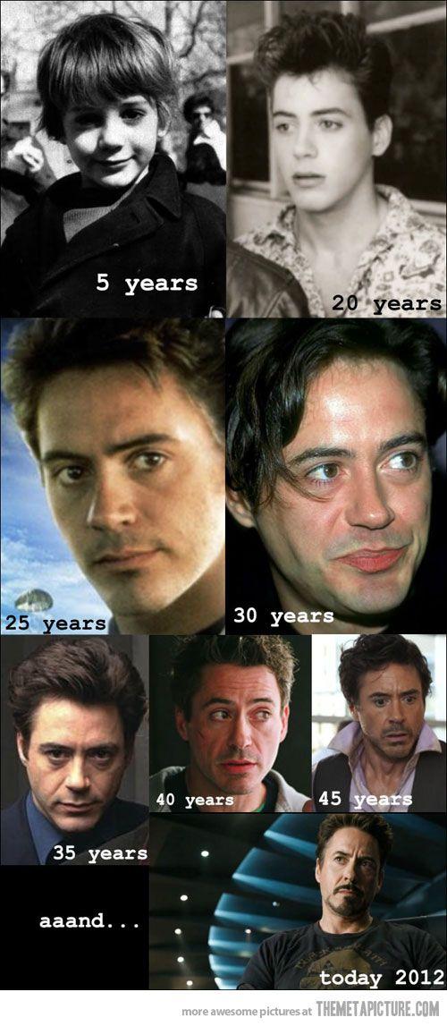 Aging like a boss…Robert Downey Jr.