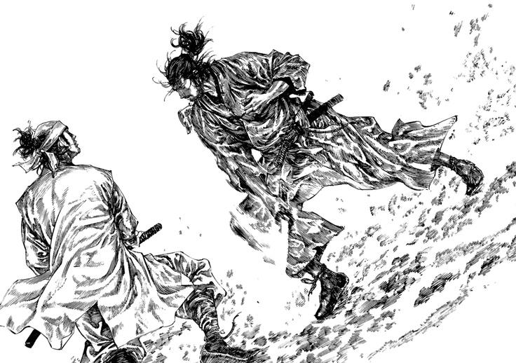 Vagabond Manga and Anime Reviews and