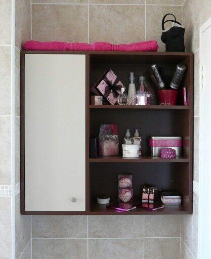 Bathroom wall vanity.