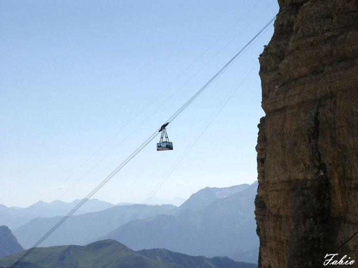 Sass Pordoi nel Canazei, Trentino - Alto Adige