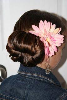 Cute Teen Hair Bun | Prom Hairstyles | Hairstyles, Braids and Hair Style Ideas | Cute Girls Hairstyles