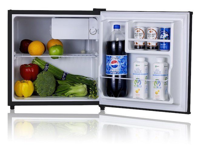 Mini Fridge Refrigerator Apartment Size Refrigerators Compact Reversible  Door
