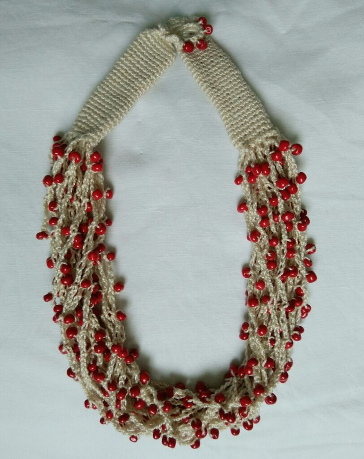 Crochet necklage
