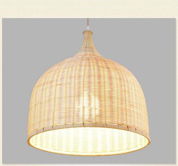 Intricately woven from split bamboo. The Roost Chedi Bamboo Pendants provide a perfect balance of modern design in a casual setting. The organic and natural design