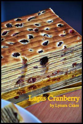 Lynara Cakes: Lapis Cranberry